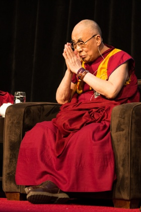The Dalai Lama at the International Symposium for Contemplative Studies 2014
