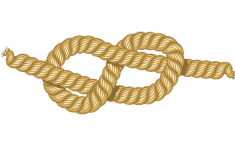 The figure of eight knot