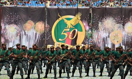 Zambia's 50th independence celebrations