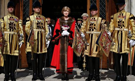 Fiona Woolf, mayor of the City of London