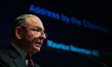 Maurice Newman, the climate science denying business advisor to Australia's Prime Minister Tony Abbott.