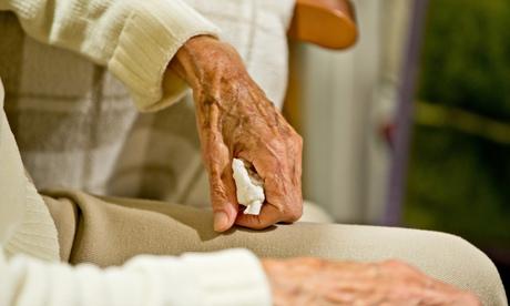 Dementia patients in Germany - Hands