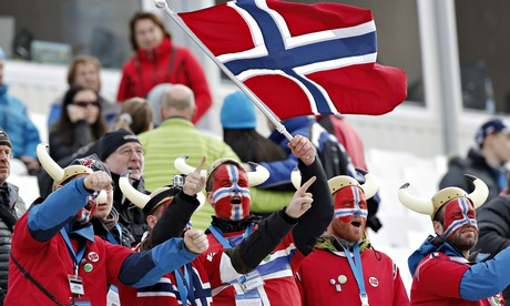 Norway fans Sochi