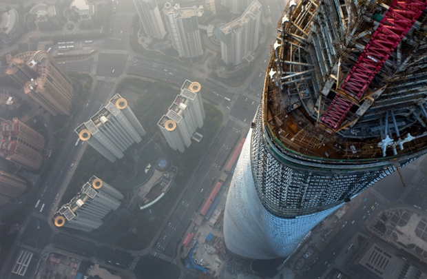 Shanghai Tower Climb - In Pictures