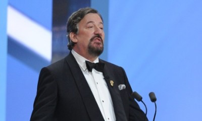 Stephen Fry hosted the BAFTAs for the ninth year in 2014