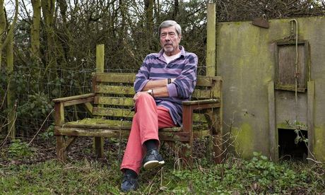 Bernard Randall at his home in Kent