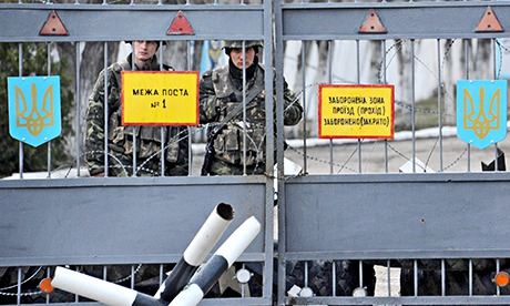 Military personnel in Feodosiya