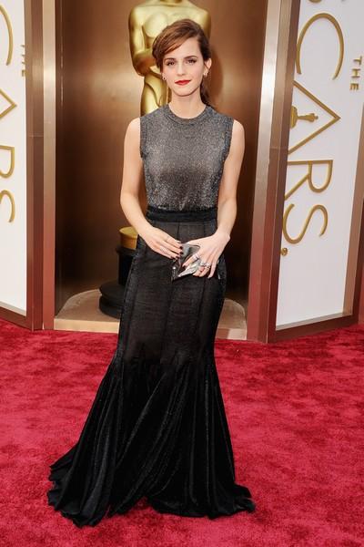 Oscars 2014 red carpet: Emma Watson