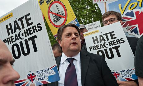 BNP Stopped from Marching