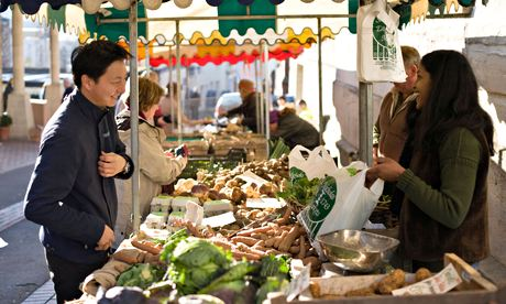 A farmers' market in Stroud …is flavour really the issue?