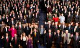 Members of the 113th Congress take the oath of office in the House of Representatives chamber