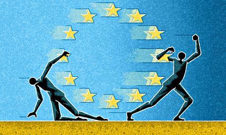 Matt Kenyon illustration on Europe