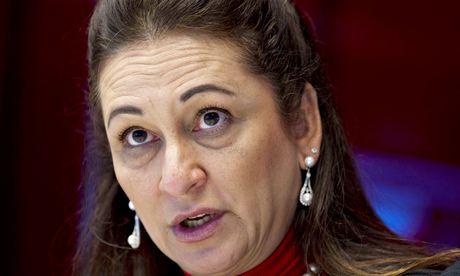 Brazilian senator Katia Abreu