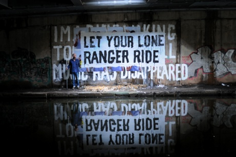 Let Your Lone Ranger Ride.