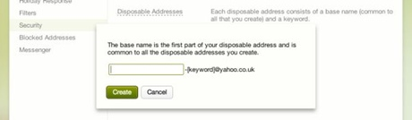 Alternative and disposable email addresses   Yahoo