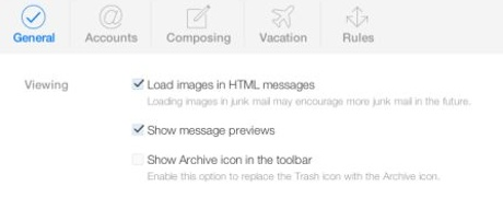 Archive instead of deleting iCloud