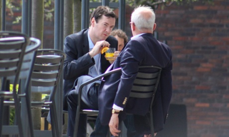 George Osborne fruit punch