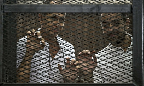 Al-Jazeera journalists on trial