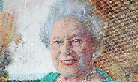 Rolf Harris portrait Queen
