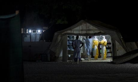 Ebola clinic Guinea