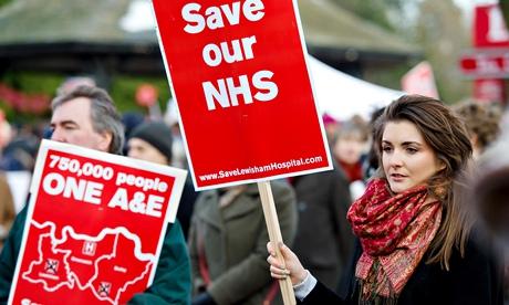 Save Lewisham Hospital Campaign demo