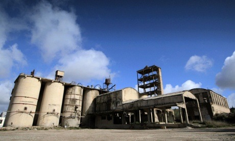 Cement factory in south-western city of Badajoz