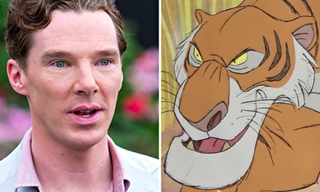Composite of Benedict Cumberbatch and Shere Khan