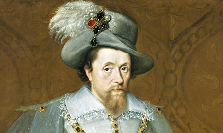 James VI of Scotland and I of England as painted by John de Critz; 'Since a Scottish king took over