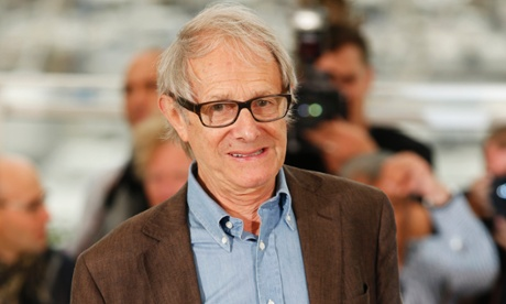 Ken Loach at the Cannes film festival in May 2014.