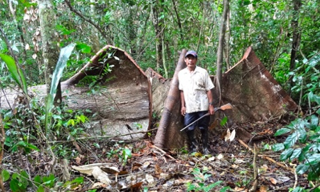 Jorge Ríos Pérez, one of four Ashéninka leaders recently assassinated in the Peruvian Amazon.