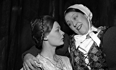 Peggy Mount & Judi Dench
