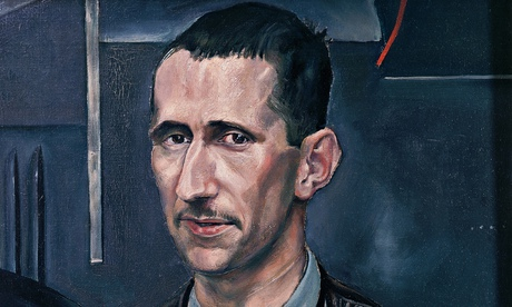 Portrait of Bertolt Brecht (detail)