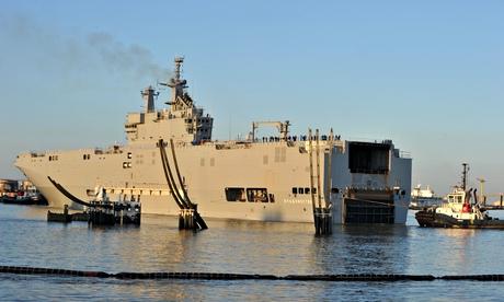 Vladivostok warship
