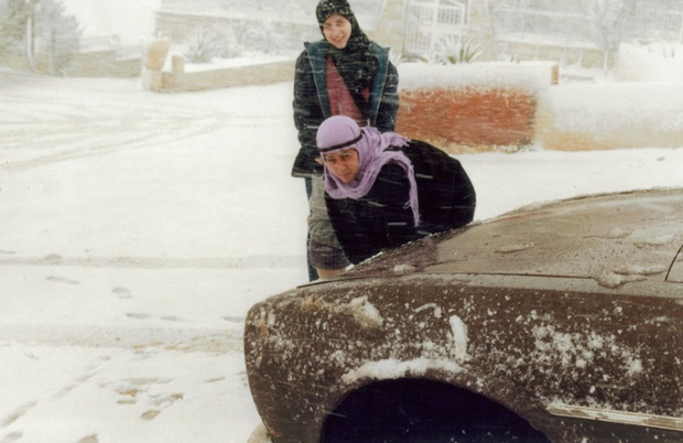 Nesrin Jare and Ietedal Alkarssifi, Baalbeck, 1981