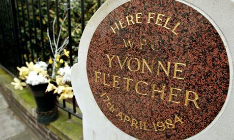 Memorial to Yvonne Fletcher