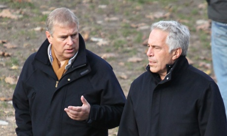 Prince Andrew and Jeffrey Epstein in New York. Photograph: Jae Donnelly/News Syndication
