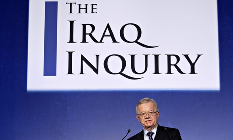 Sir John Chilcot author of the long awaited iraq war report