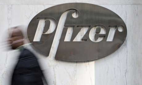 File photo of the Pfizer's world headquarters in New York