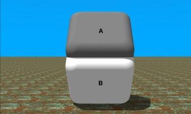 Colour illusion