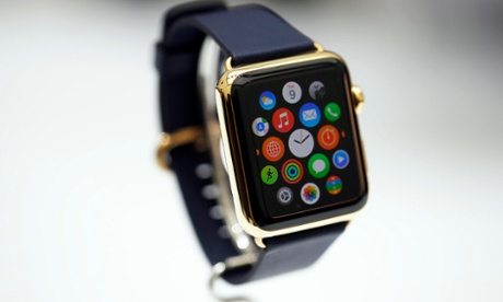 The gold edition of the Apple Watch