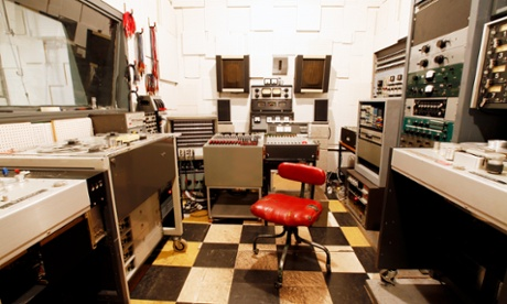 Toe Rag studios in Hackney, East London.