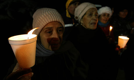 Relatives of trapped Chilean miners