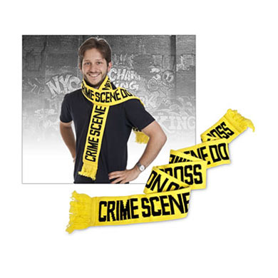 Worst Christmas gifts: Crime scene scarf