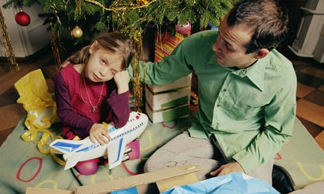 Child Christmas: dissapontment when gettin a Samsung or Nokia, but not an Apple, iPhone, iPod, iPad.