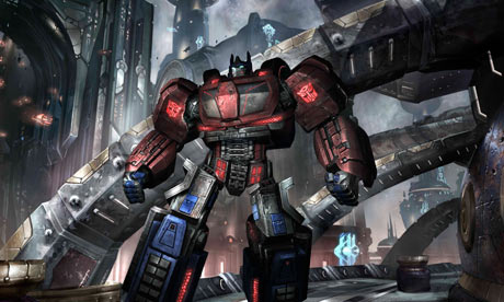 Transformers: War for Cybertron computer game