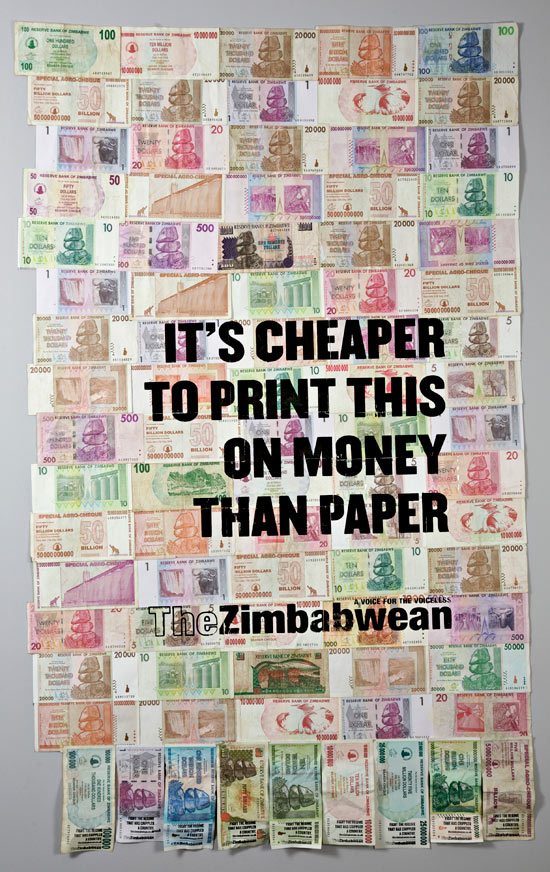 Money: Cheaper than paper!
