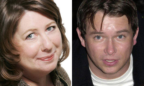 Jan Moir and Stephen Gately composite