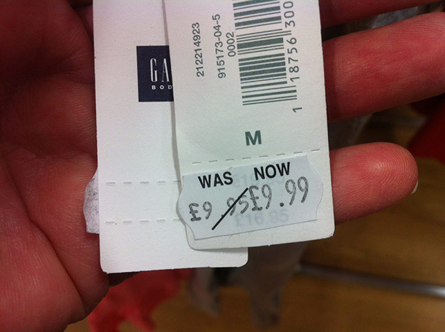 Daft deals: Gap in Nottingham