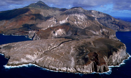 Ascension Island south Atlantic