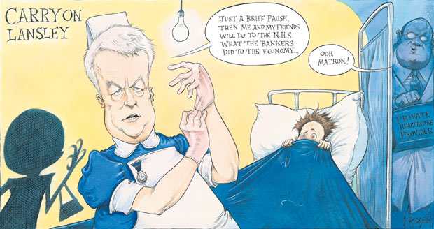 Chris Riddell 10 April 2011